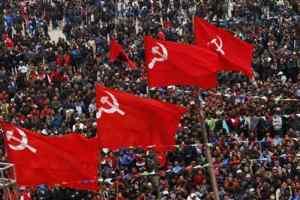 नेपाल में एक बार फिर हुआ लाल सूरज का उदय